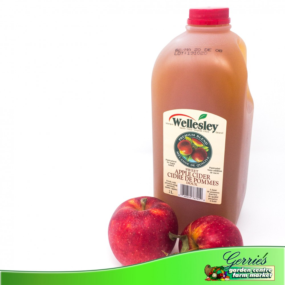 Fresh Pressed Apple Cider - 2L