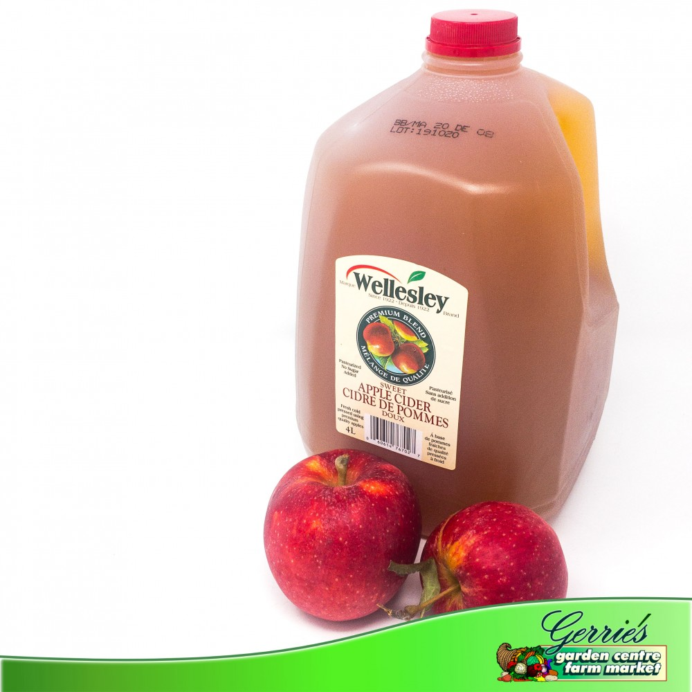 Fresh Pressed Apple Cider - 4L