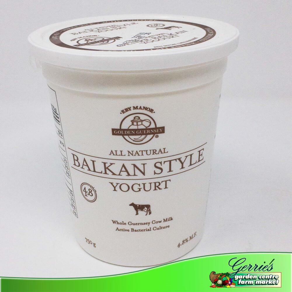 Eby Manor Balkan Style Yogurt