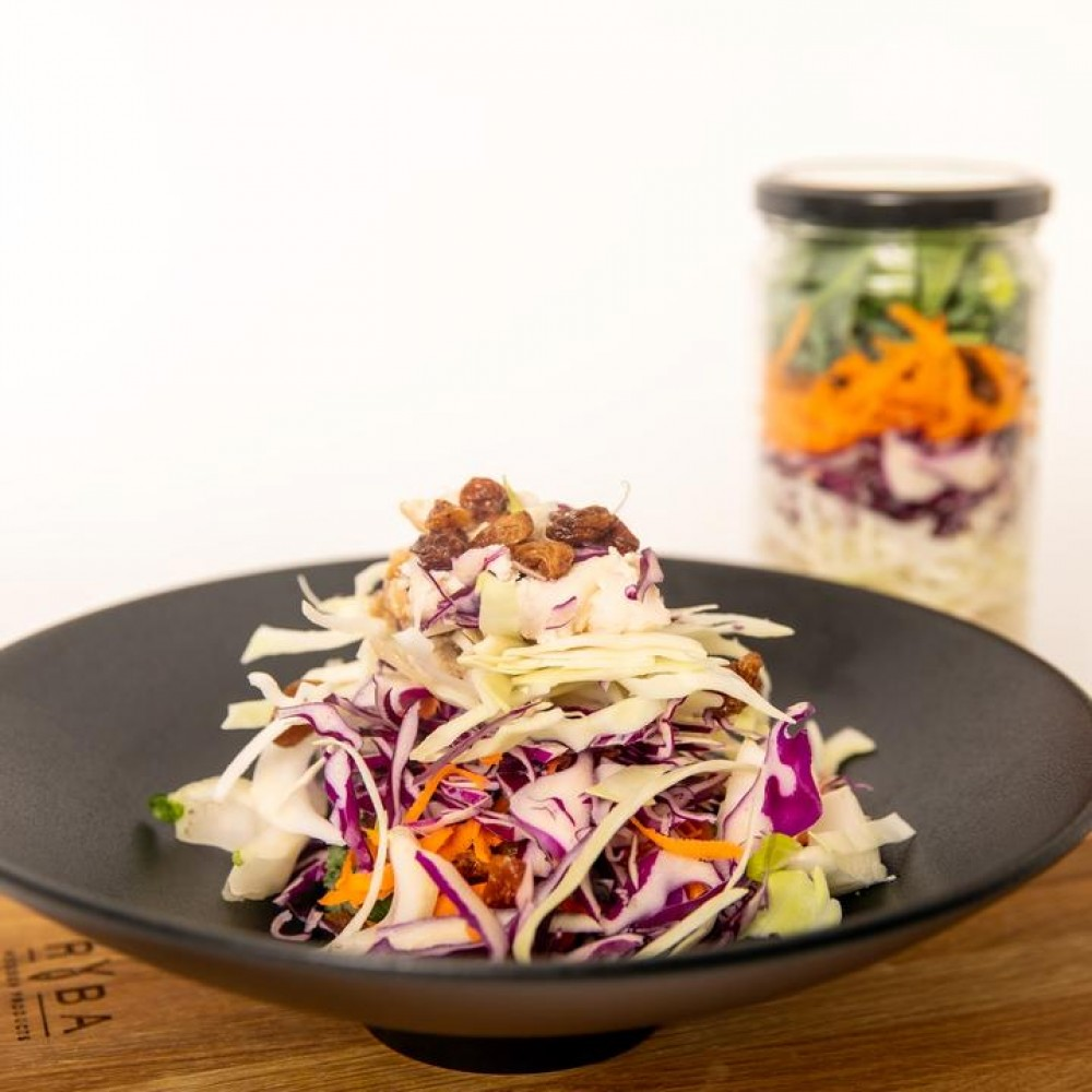 Balsamic Chicken Coleslaw