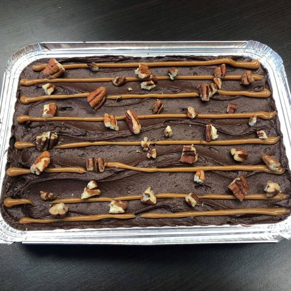 Pecan Caramel Brownie