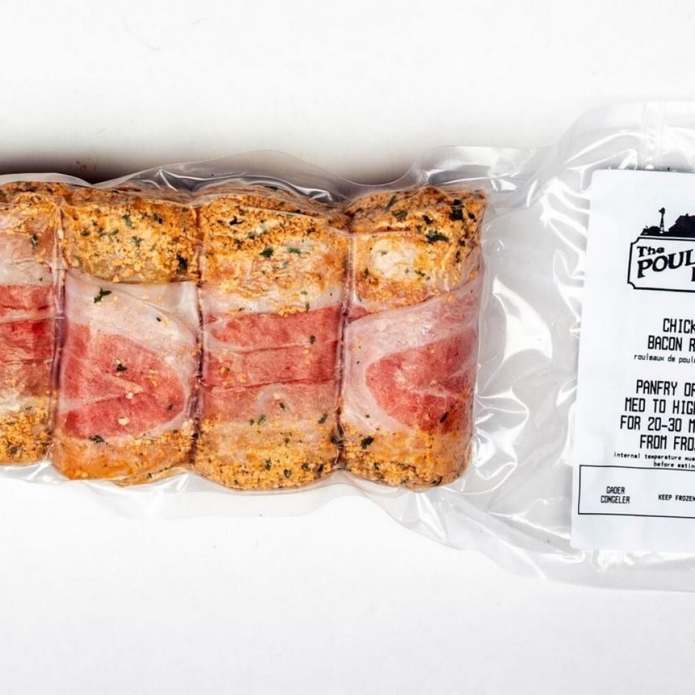 Chicken Bacon Rolls