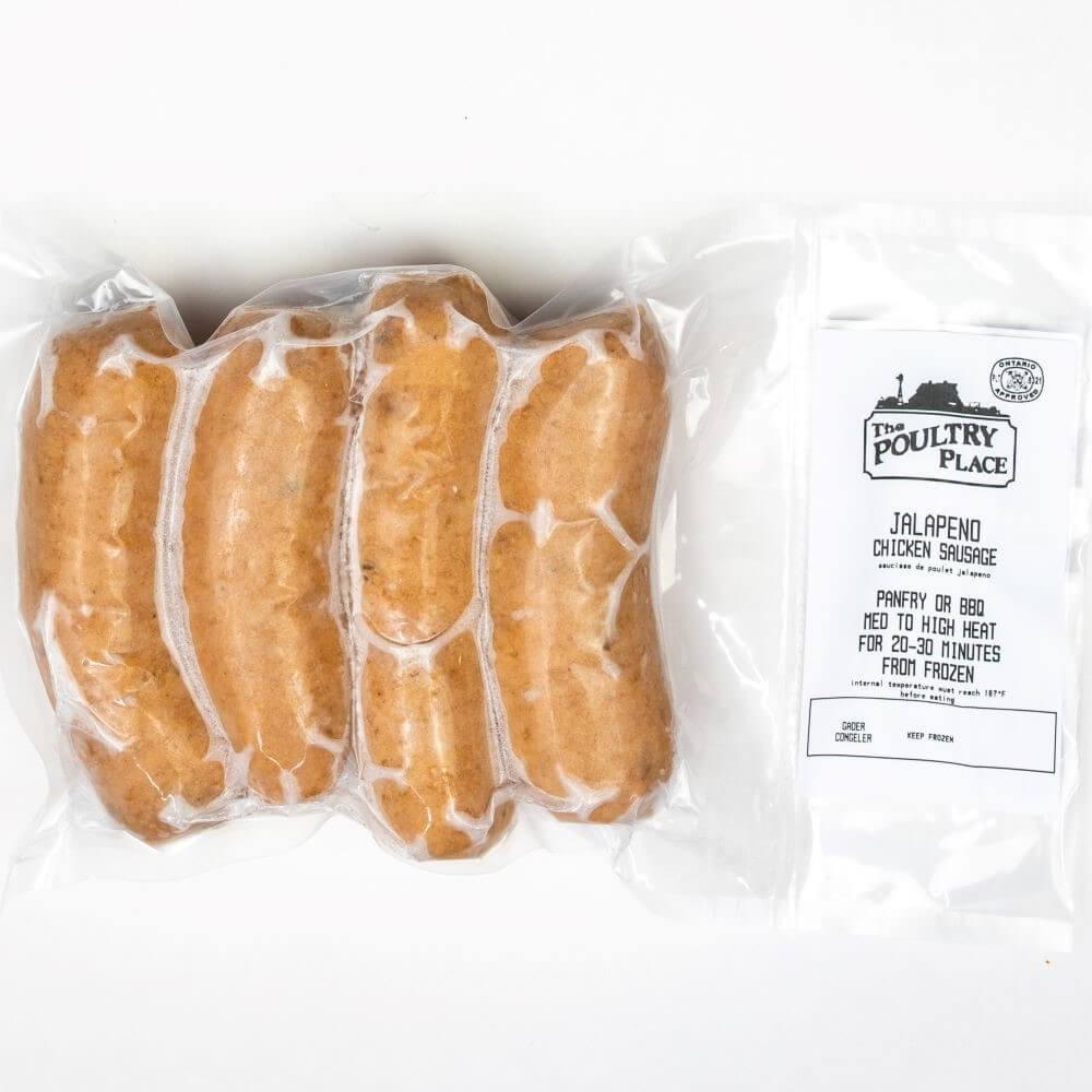 Chicken Sausage - Jalapeno