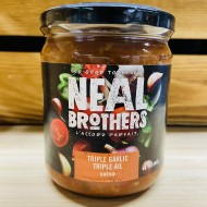 Neal Brothers - Triple Garlic salsa (410ml)