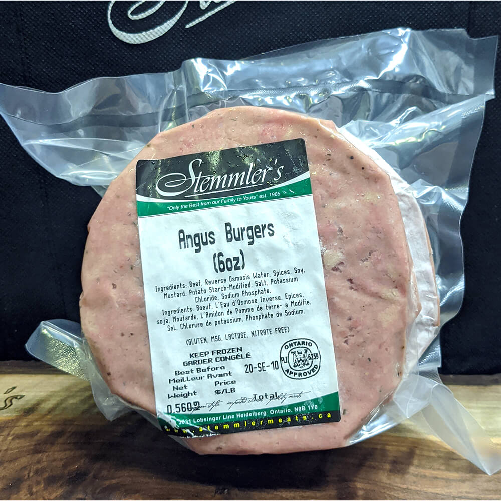 Angus Burgers (6 oz)