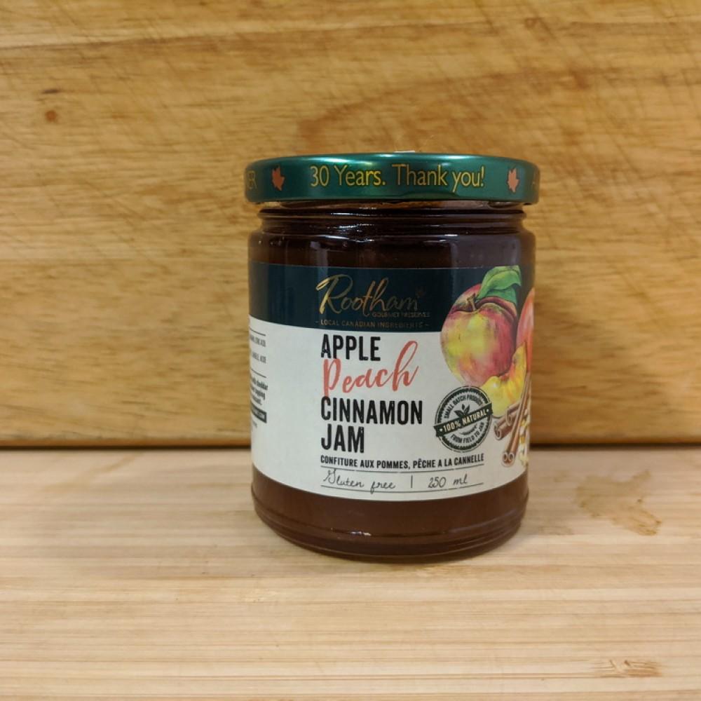 Apple Peach Cinnamon Jam (250ml)