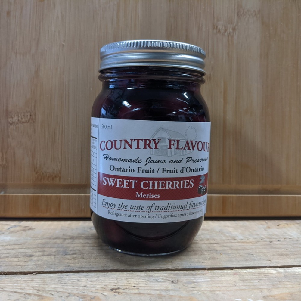 Country Flavor Sweet Cherries (500ml)