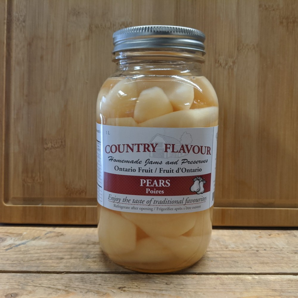 Country Flavor Pears (1L)