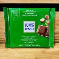 Ritter Sport- Milk Chocolate with Hazelnuts (100g)