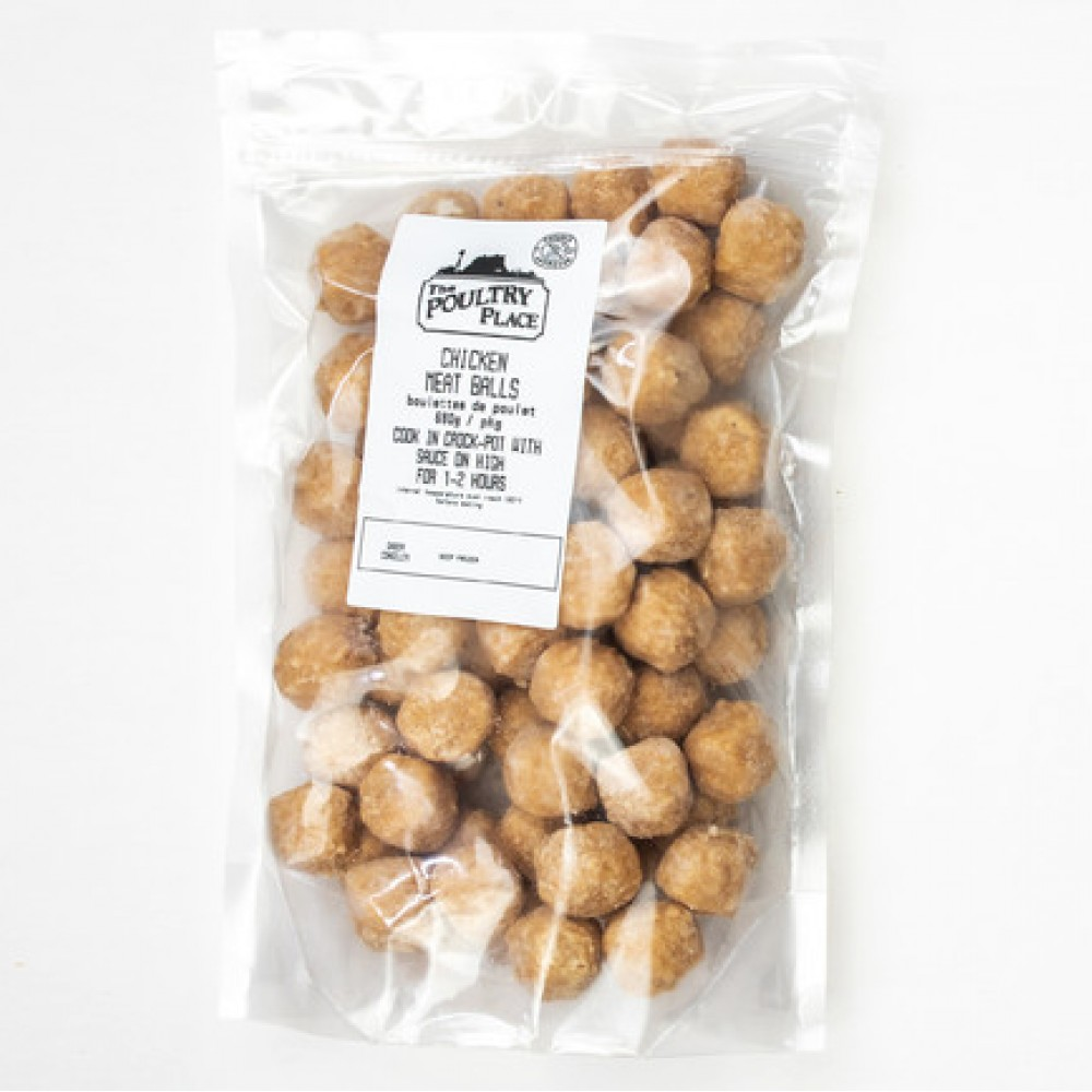The Poultry Place - Chicken Meatballs
