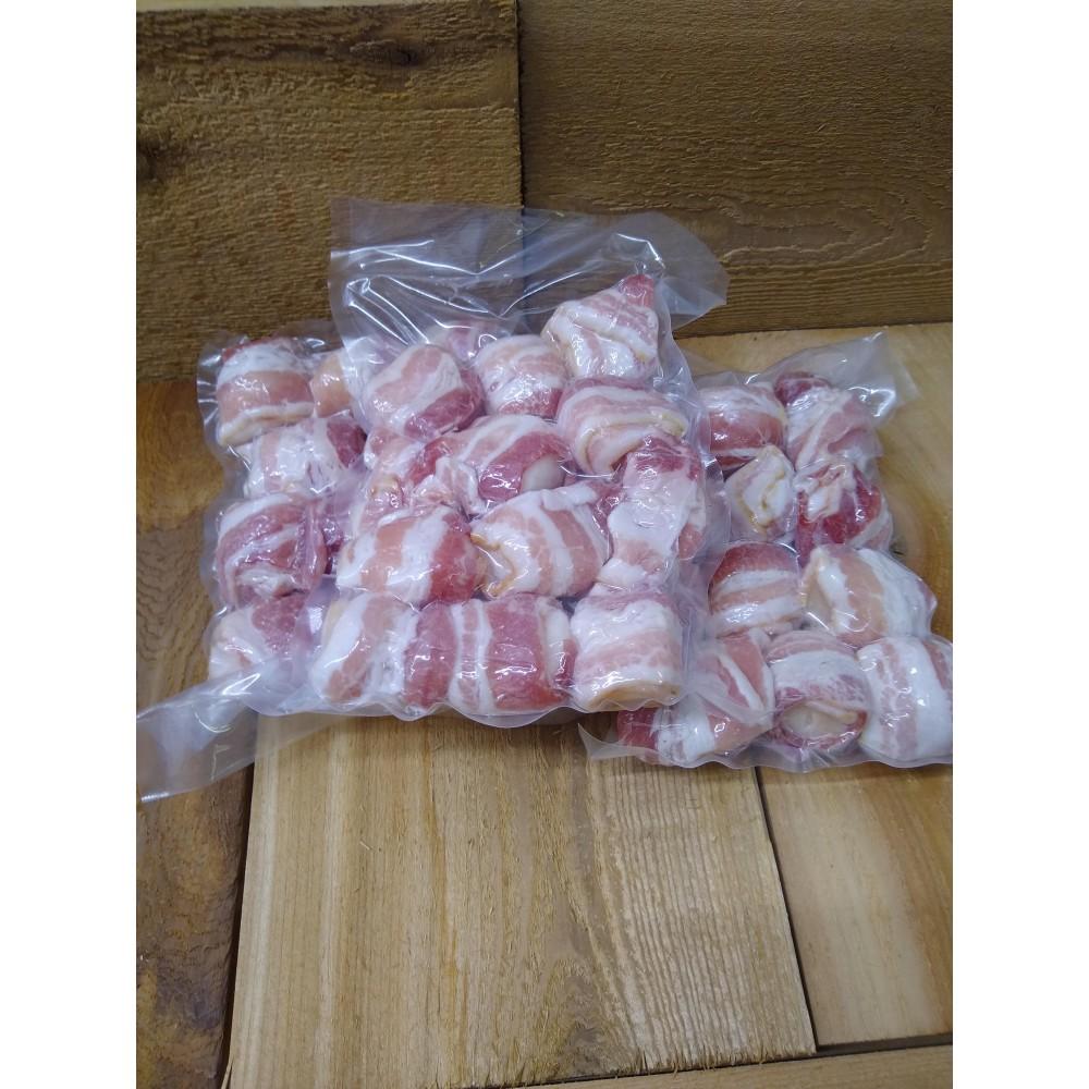bacon wrapped scallops