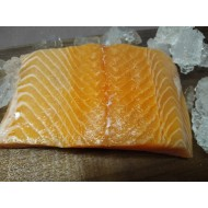 sushi grade salmon portions
