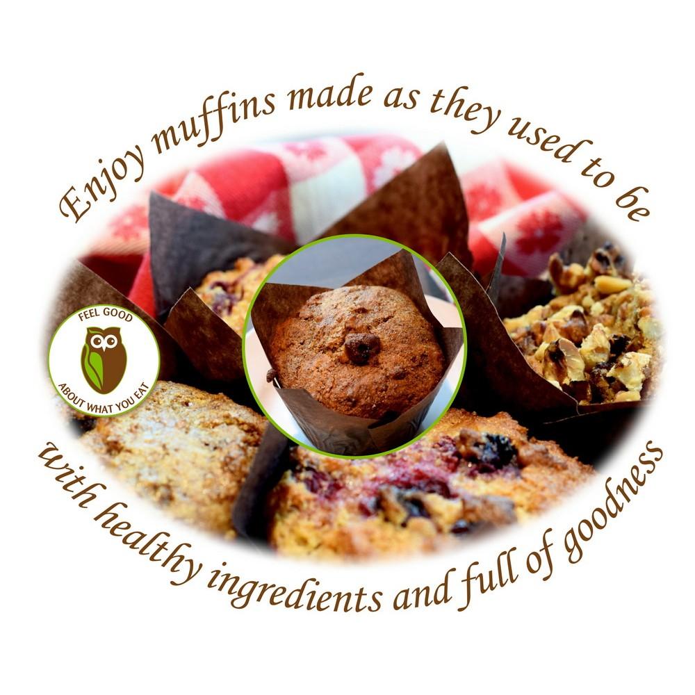 Healthy Owl Buttermilk Bran Muffins - 1/2 dozen box