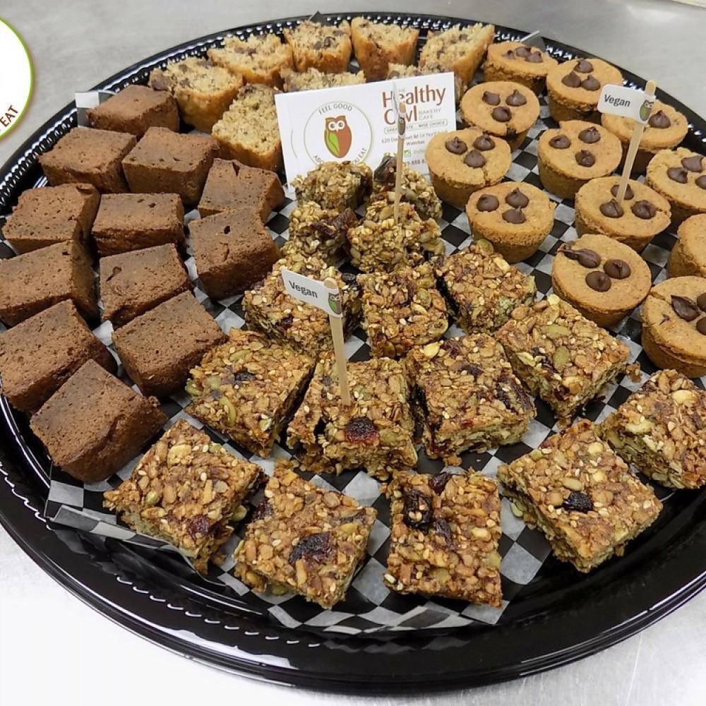 Healthy Owl Tasty Dessert Tray