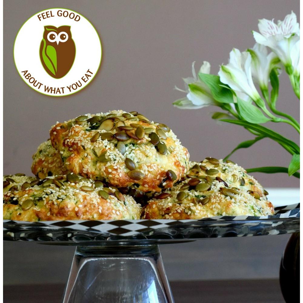 Healthy Owl Savoury Breakfast Scones - 1/2 dozen box