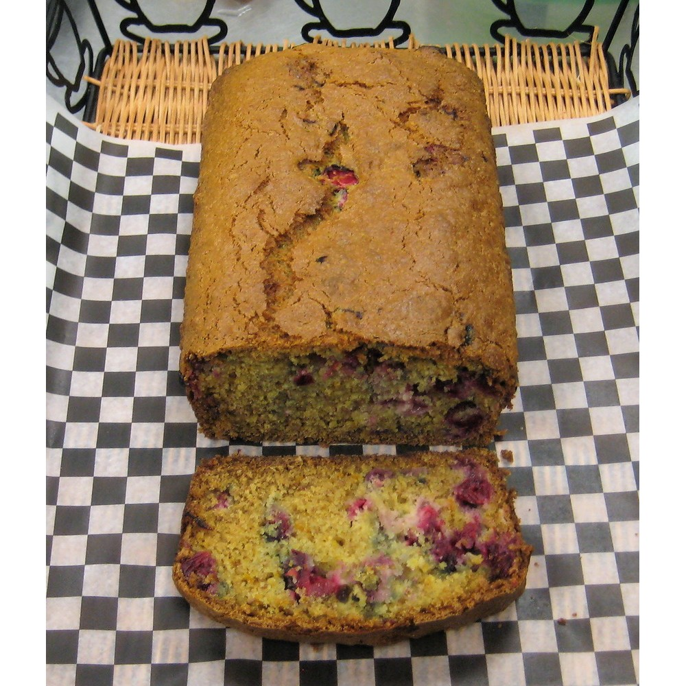 Healthy Owl Seasonal Fruit Loaf - Cranberry Orange (Dairy-free, Vegan)
