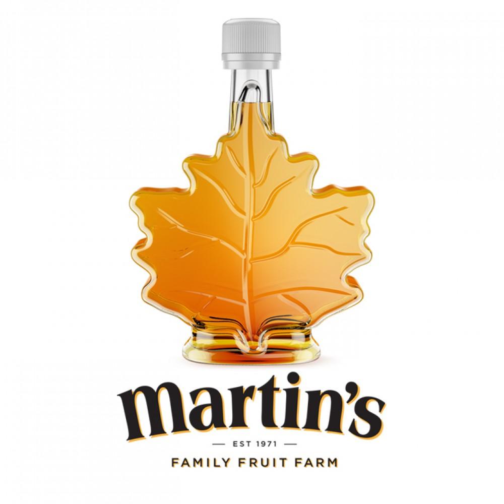 Maple Syrup -Leaf Bottle