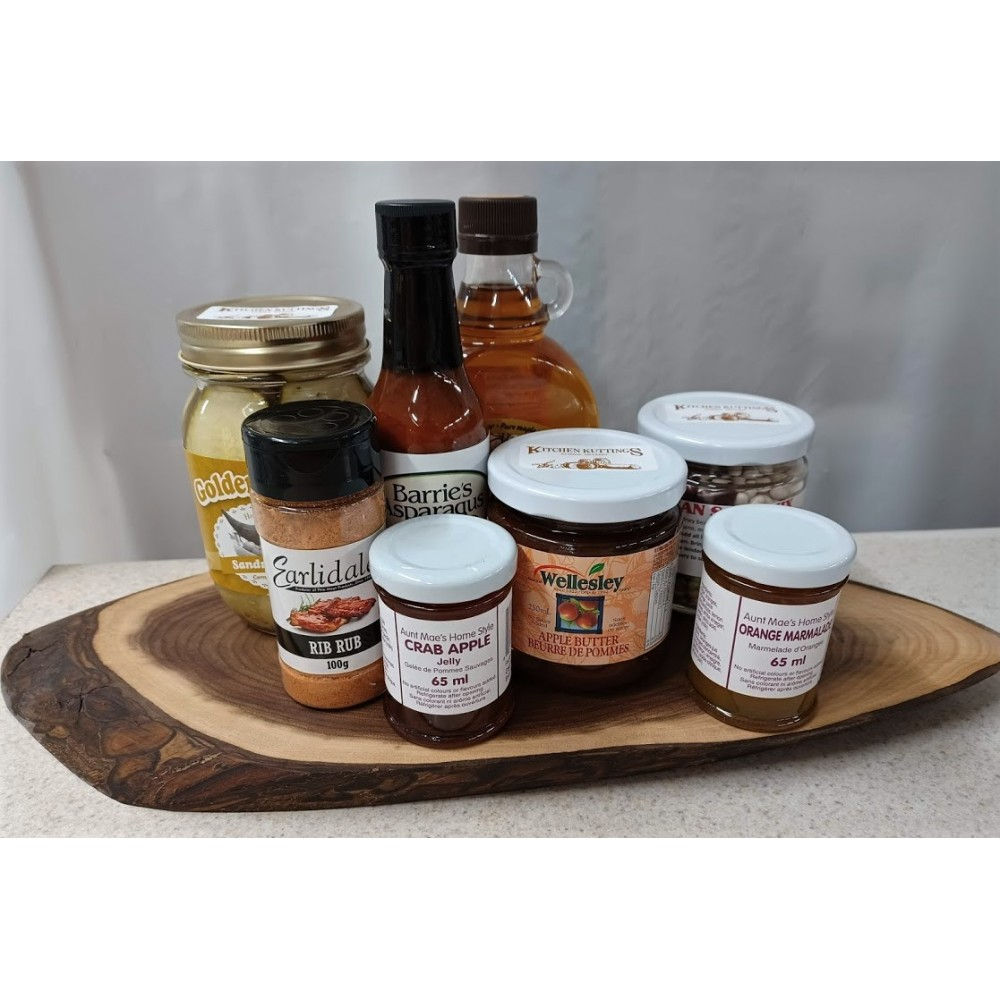 """Charcuterie Board #1 """"Local Handcrafted Delights"""""""