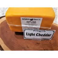 Fresh Cut Light Cheddar (per 1/2 lb.)