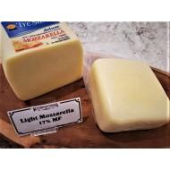 Fresh Cut Light Mozzarella Cheese (per 1/2 lb.)