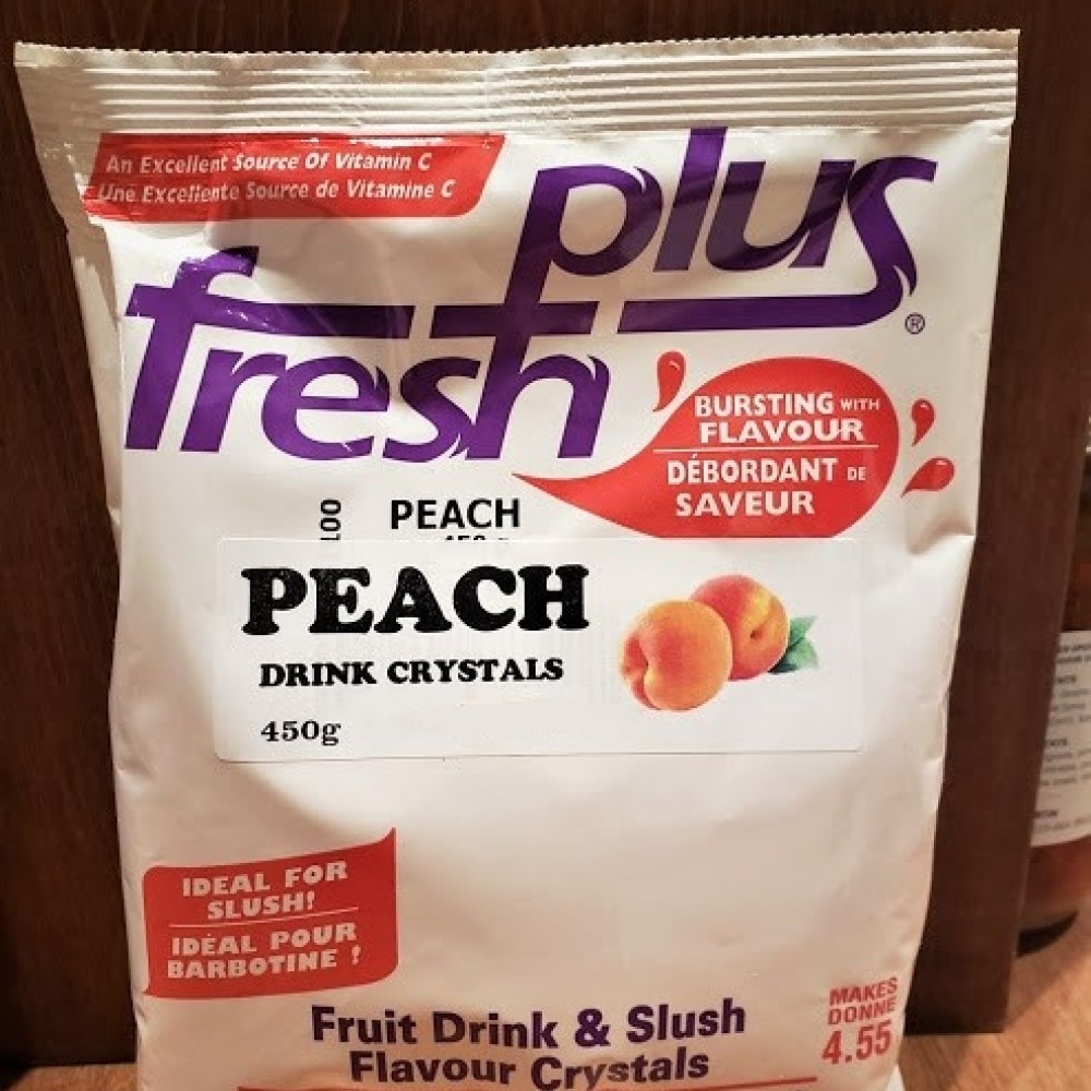 Peach Drink Crystals