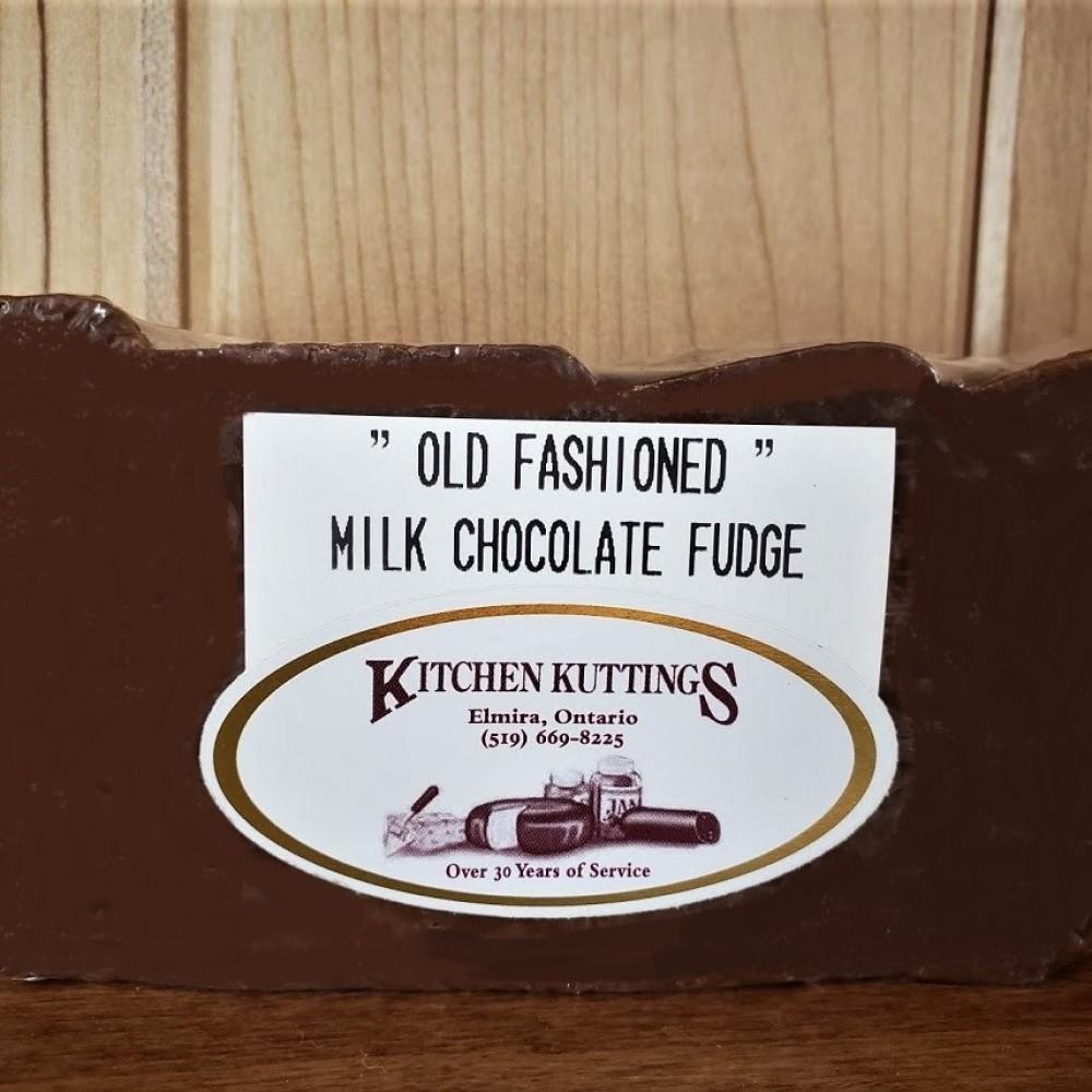 Old Fashioned Milk Chocolate Fudge