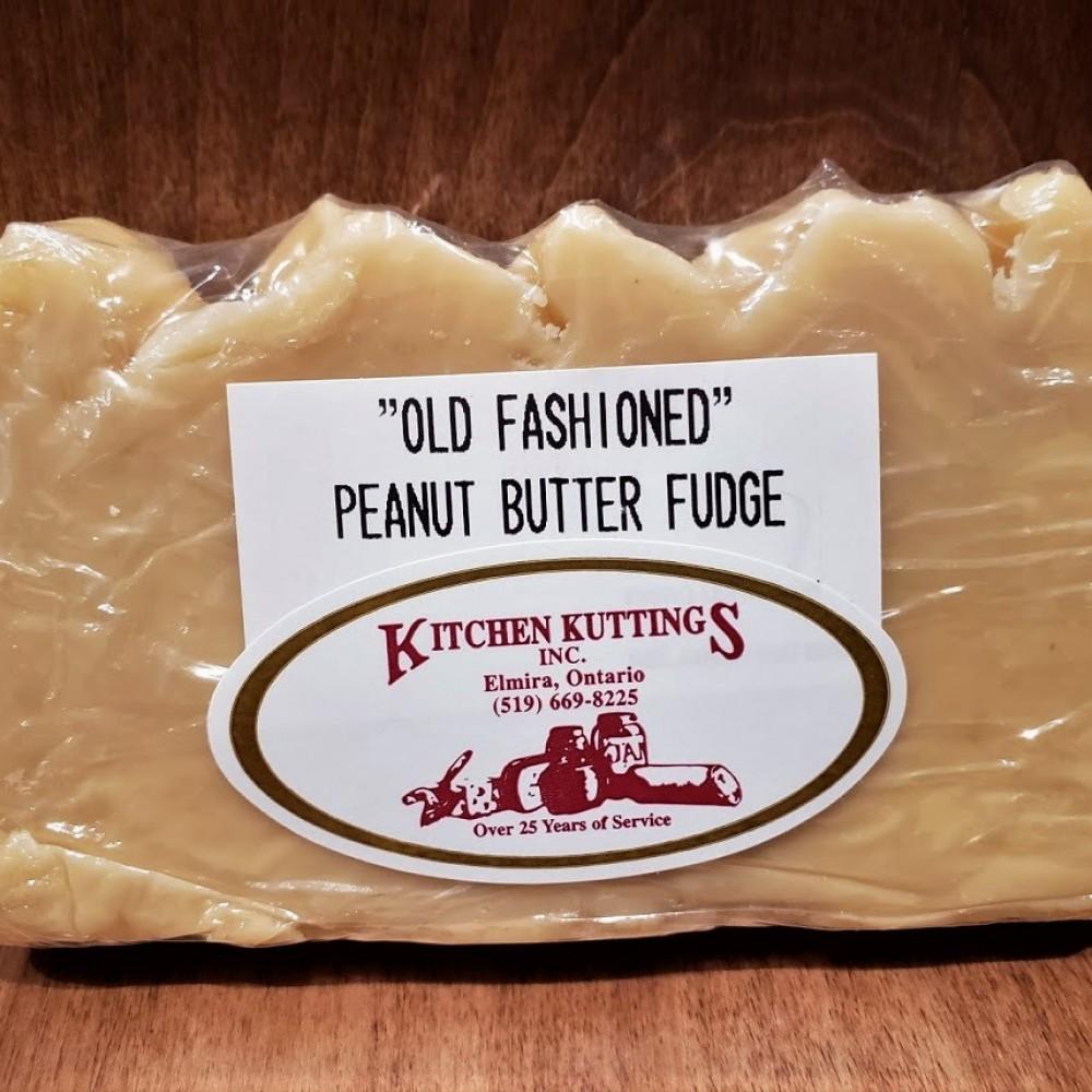 """Old Fashioned"" Peanut Butter Fudge"