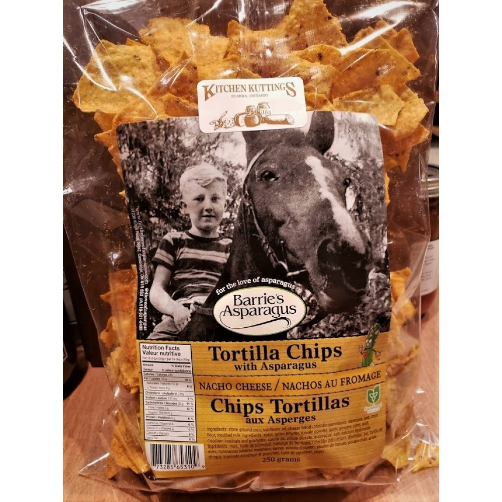 Tortilla Chips (Nacho)
