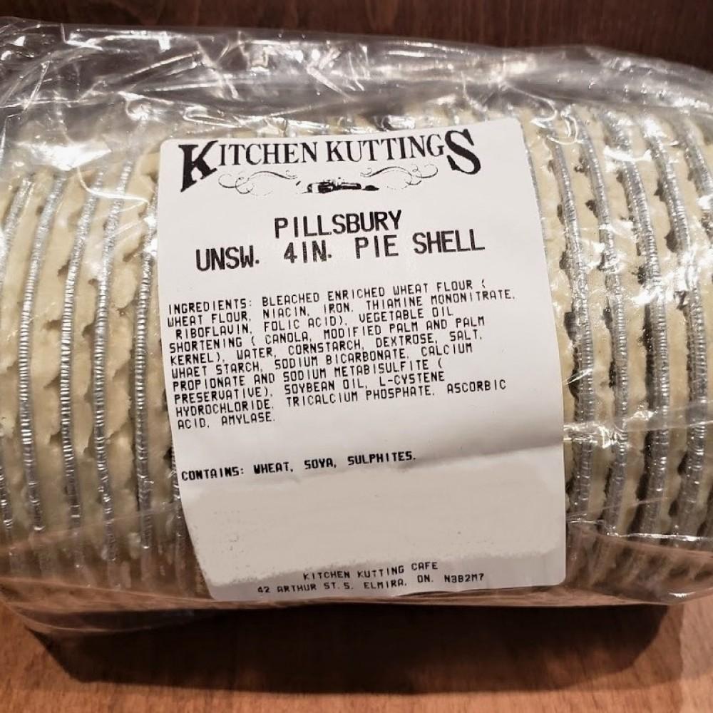 Frozen Pie Shells ( 4 inch ) 24 pcs.