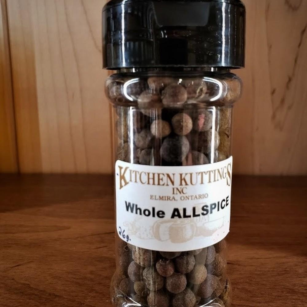 Allspice (whole) 26 g.