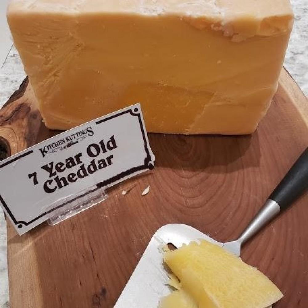 Fresh Cut 7 Year Old Cheddar (per 1/2 lb.)