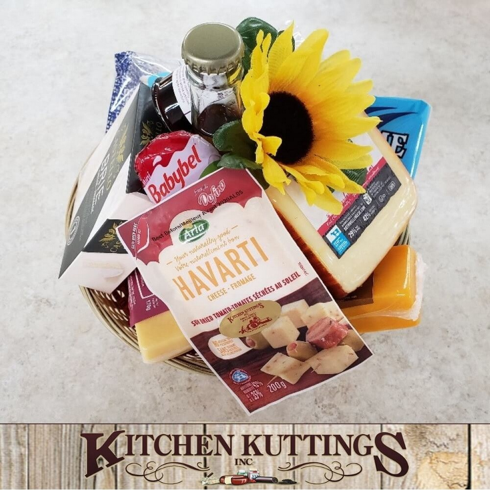 Assortment of Cheese Gift Basket