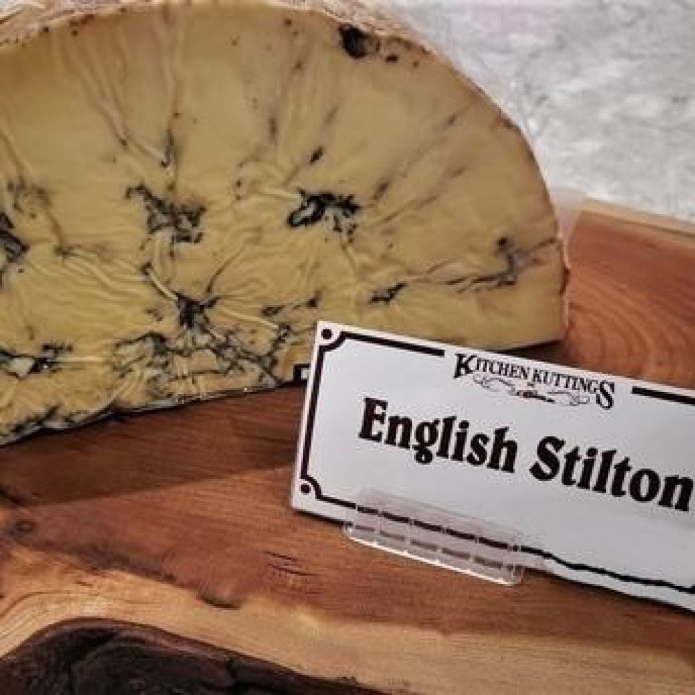 Fresh Cut English Stilton Cheese (per 1/2 lb.)