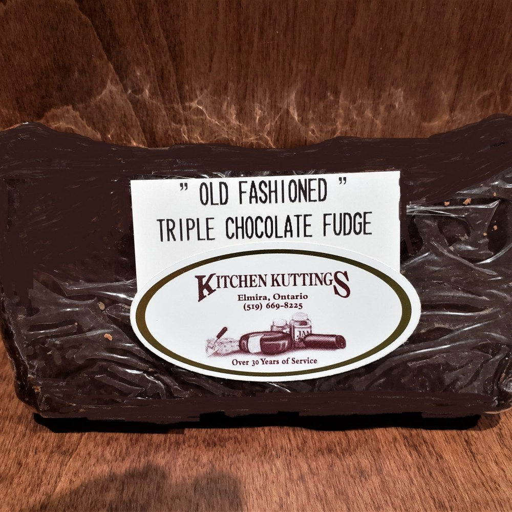 """Old Fashioned"" Triple Chocolate Fudge"