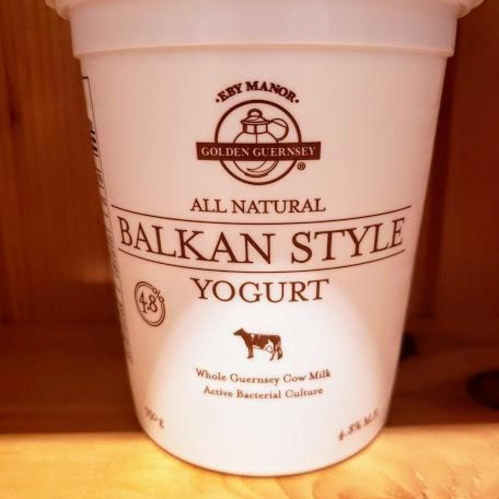 Local Golden Guernsey Balkan Style Yogurt