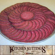 Summer Sausage Platter by Kitchen Kuttings