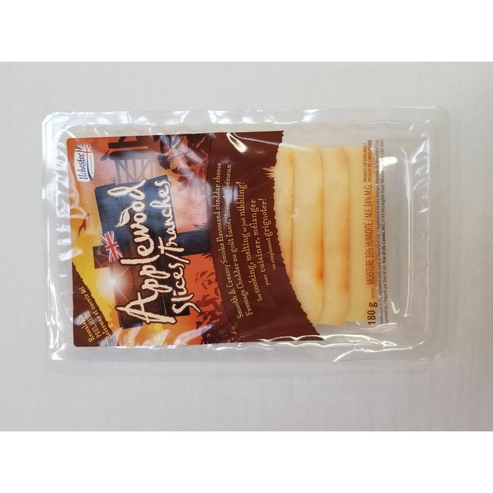 Applewood Smoked Cheddar - sliced