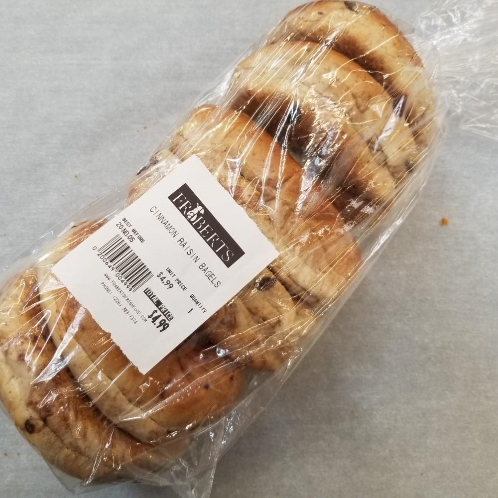 Bagels - Cinnamon Raisin