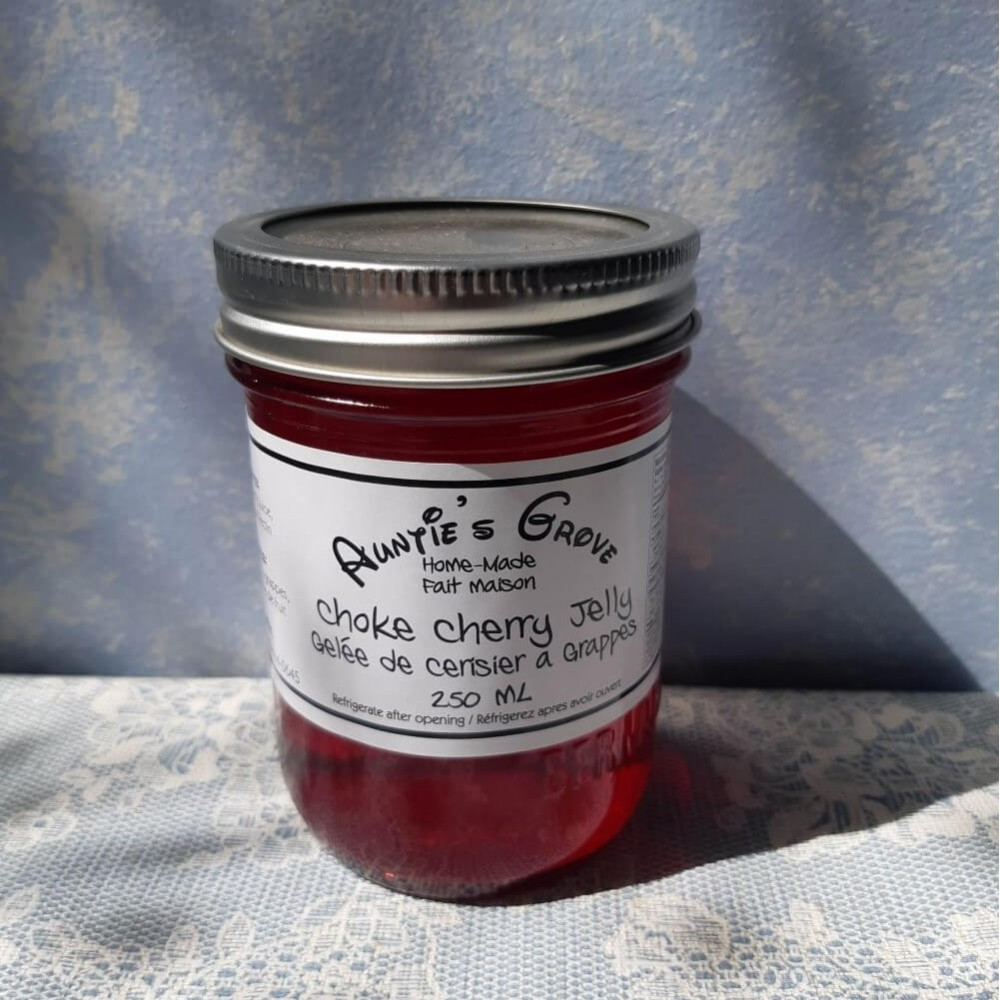 Choke Cherry Jelly